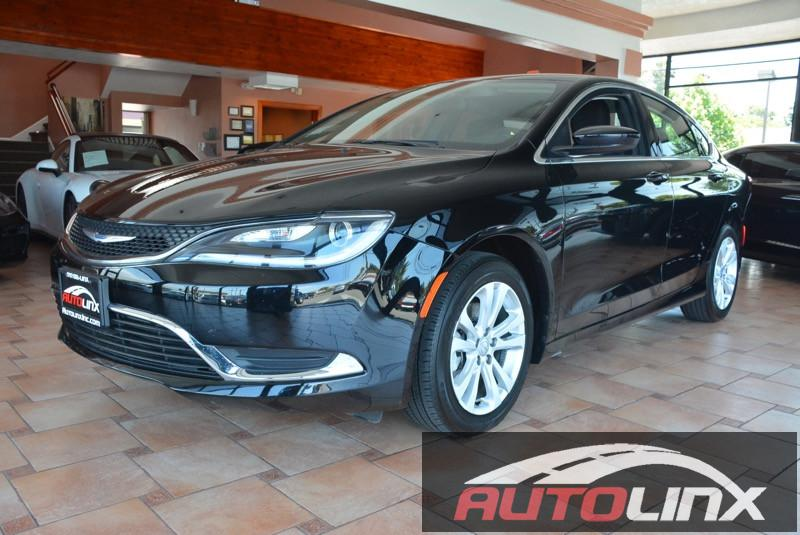 2015 Chrysler 200 Limited 9-Speed Automatic Black Gray Gray You NEED to see this car Move qui