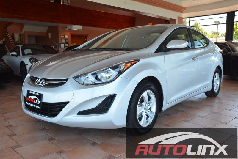 2015 Hyundai Elantra Limited Automatic Silver Black Silver Bullet Its time for AutoLinx Inc