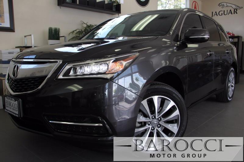 2014 Acura MDX Tech Pkg AWD 4dr SUV wNavi Automatic Gray Black Beautiful New bodystyle MDX h
