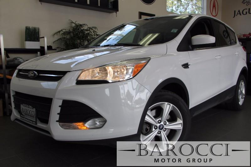 2014 Ford Escape SE AWD  4dr SUV Automatic White Beige Beautiful Escape has good options inclu