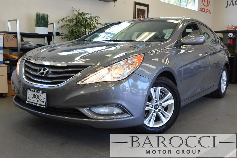 2013 Hyundai Sonata GLS 4dr Sedan 6 Speed Auto Gray Child Safety Door Locks Power Door Locks V