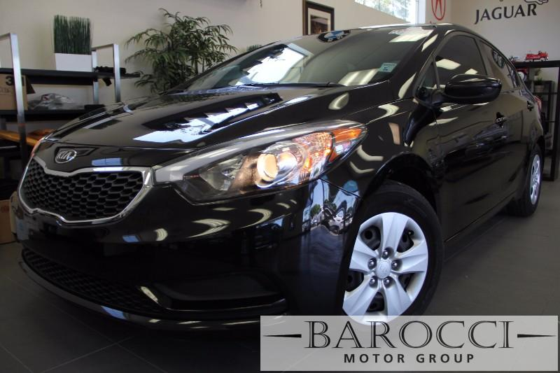 2015 Kia Forte LX 4dr Sedan 6A 6 Speed Auto Black Black This is a beautiful vehicle in great co