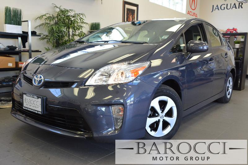 2014 Toyota Prius Base Hatchback Automatic Charcoal Air Conditioning Alarm Power Steering Pow