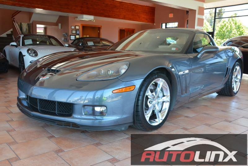 2011 Chevrolet Corvette Z16  3LT GS Automatic Gray Black STOP Read this Theres no substitute