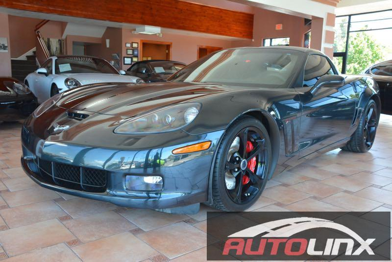 2012 Chevrolet Corvette GS Coupe 3LT 6-Speed Manual Gray Black Centennial Special Edition Hand