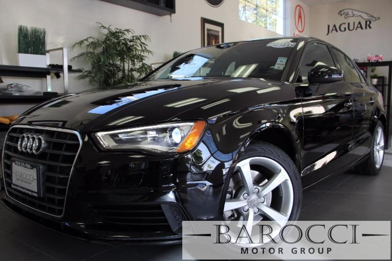 2015 Audi A3 18T Premium 4dr Sedan 6 Speed Auto Black Black Beautiful Audi A3 comes loaded wit