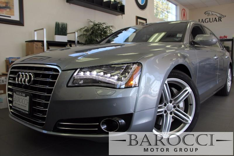 2013 Audi A8L 30T quattro LWB AWD 4dr Sedan 8 Speed Auto Gray Black Beautiful A8L comes with F