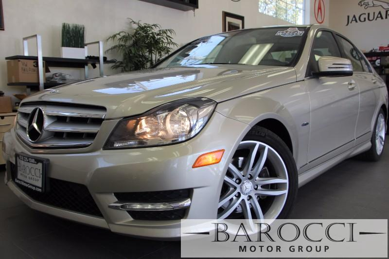 2012 MERCEDES C-Class C250 Luxury 4dr Sedan Automatic Champagne Beige Beautiful Unique C-Class