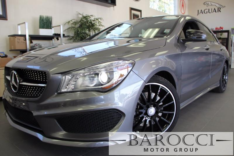 2014 MERCEDES CLA-Class CLA250 4dr Sport Plus PKG Automatic Gray Black This is a beautiful veh