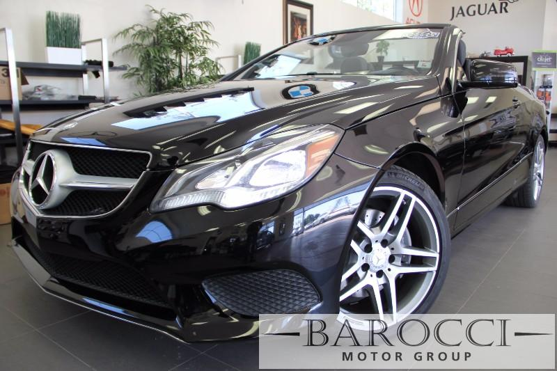 2014 MERCEDES E-Class E350 2dr Convertible Automatic Black Black Fully Loaded with options AMG