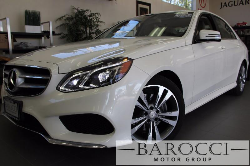 2014 MERCEDES E-Class E350 Sport 4dr Sedan Automatic White Beige Comes with the Premium Harman