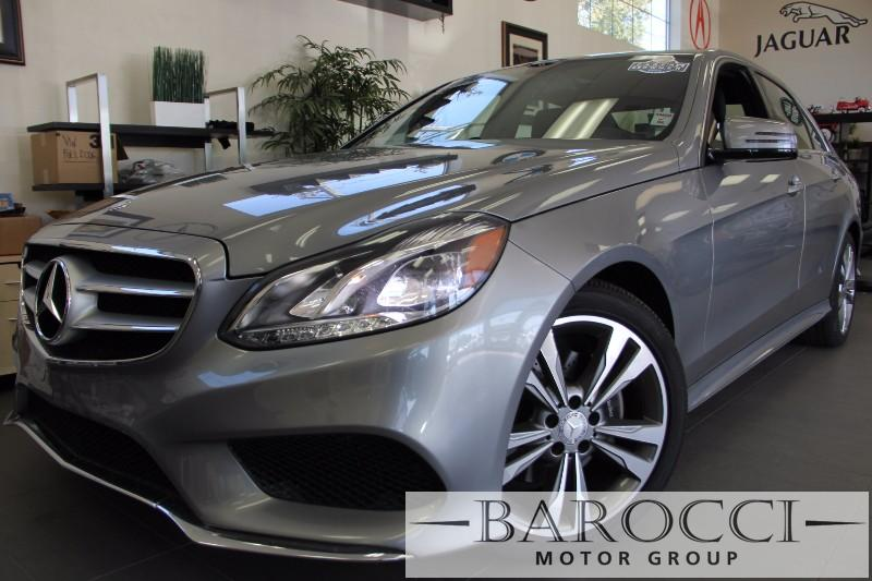 2014 MERCEDES E-Class E350 Sport 4dr Sedan Automatic Silver Black Comes with the Premium Harman