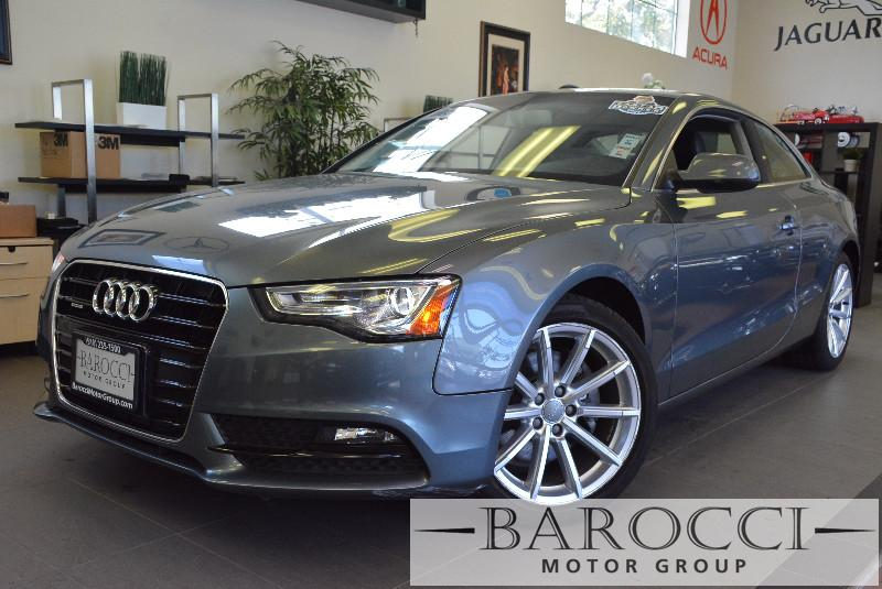 2015 Audi A5 20T quattro Premium AWD  2dr Coupe 8 Speed Auto Gray ABS Air Conditioning Alarm