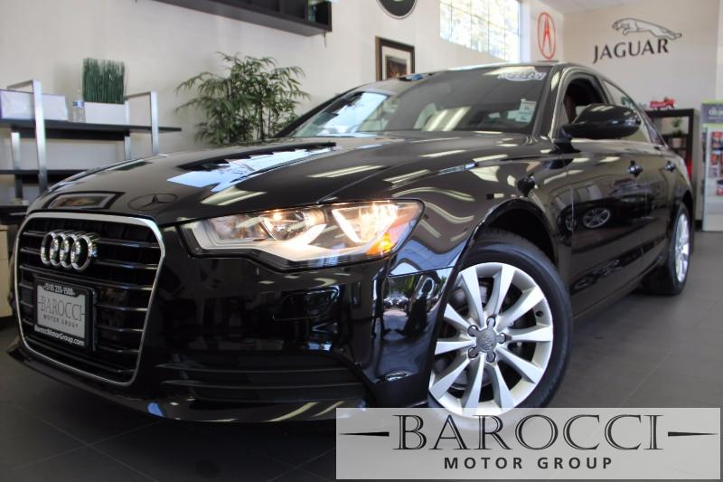 2014 Audi A6 20T Premium 4dr Sedan Automatic Black Brown This is a beautiful vehicle in great