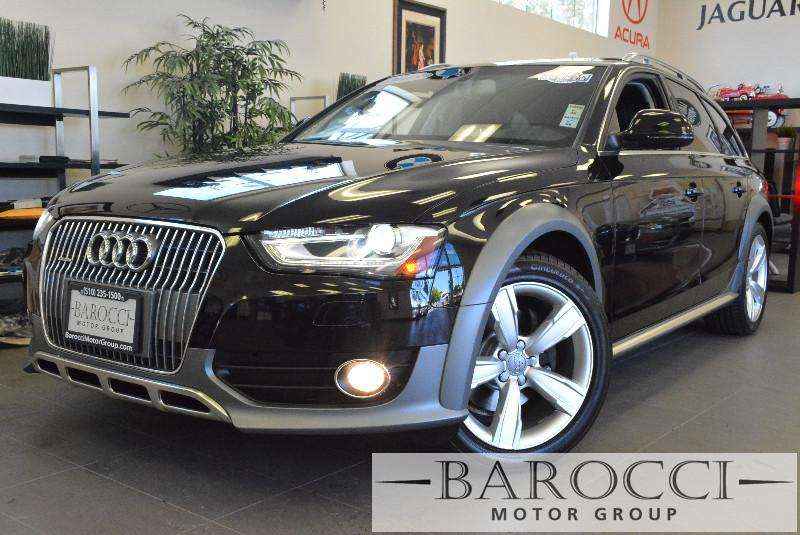 2013 Audi Allroad 20T quattro Premium AWD  4dr Wagon 8 Speed Auto Black Child Safety Door Locks
