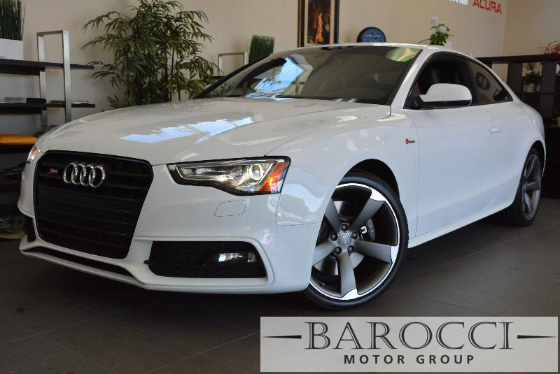 2014 Audi S5 30T quattro Premium AWD  2dr Coupe 7 Speed Auto White ABS Air Conditioning Alarm