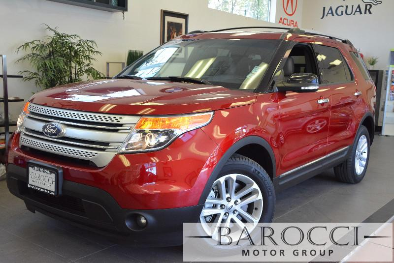 2013 Ford Explorer XLT AWD  4dr SUV 6 Speed Auto Red ABS Air Conditioning Alarm Alloy Wheels