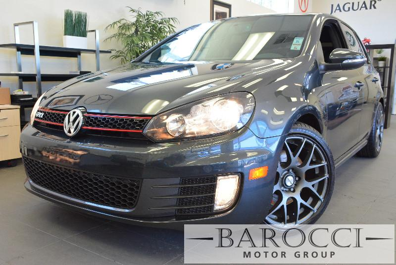 2013 Volkswagen GTI PZEV 4dr Hatchback 6M 6 Speed Man Gray Bluetooth Phone connection Heated S