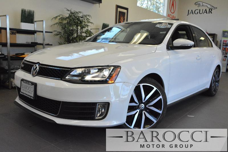 2013 Volkswagen Jetta GLI Autobahn PZEV 4dr Sedan 6A end 6 Speed Auto White ABS Air Conditioni