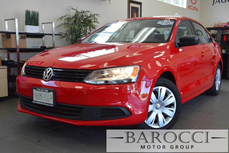 2014 Volkswagen Jetta S 4dr Sedan 6A 6 Speed Auto Red Child Safety Door Locks Power Door Locks
