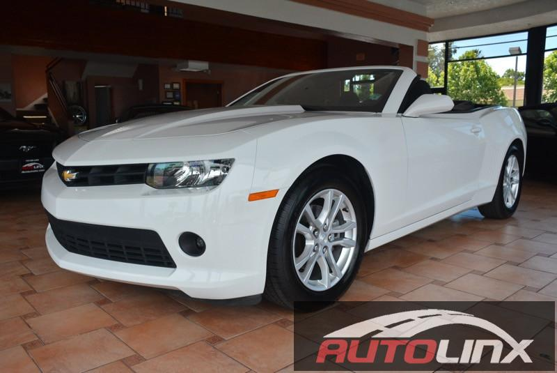 2015 Chevrolet Camaro LT 6-Speed Automatic White Black Isnt it time for a Chevrolet  Youll NEV