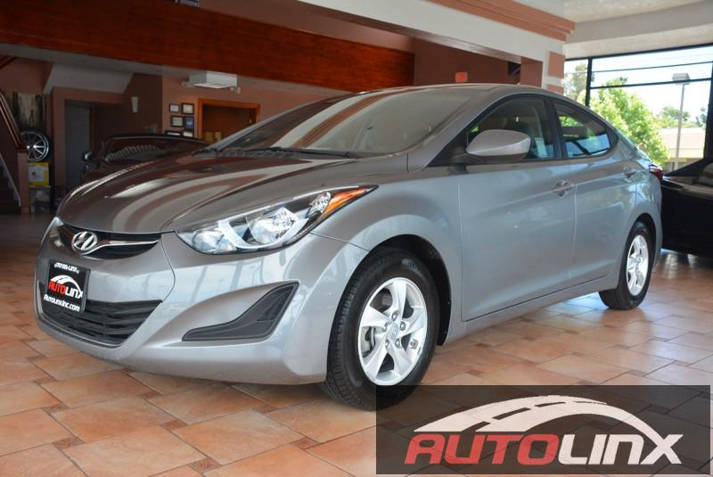 2014 Hyundai Elantra SE Automatic Gray Come to AutoLinx Inc No games just business This supe