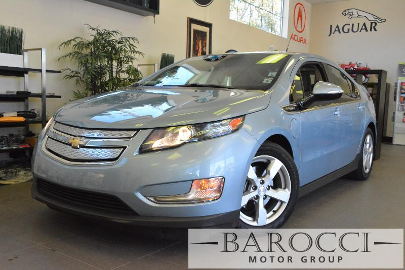 2013 Chevrolet Volt Base 4dr Hatchback 1 Speed Auto Blue Carpool Lane Stickers XM Radio ABS A