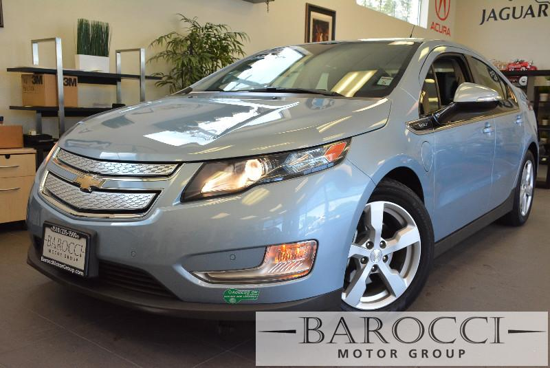 2013 Chevrolet Volt Premium 4dr Hatchback Automatic Blue Black Beautiful Volt comes loaded with