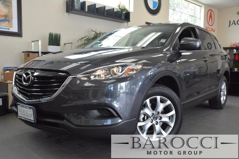 2014 Mazda CX-9 Grand Touring 4dr SUV 6 Speed Auto Gray Black Beautiful 2014 CX-9 has many opti