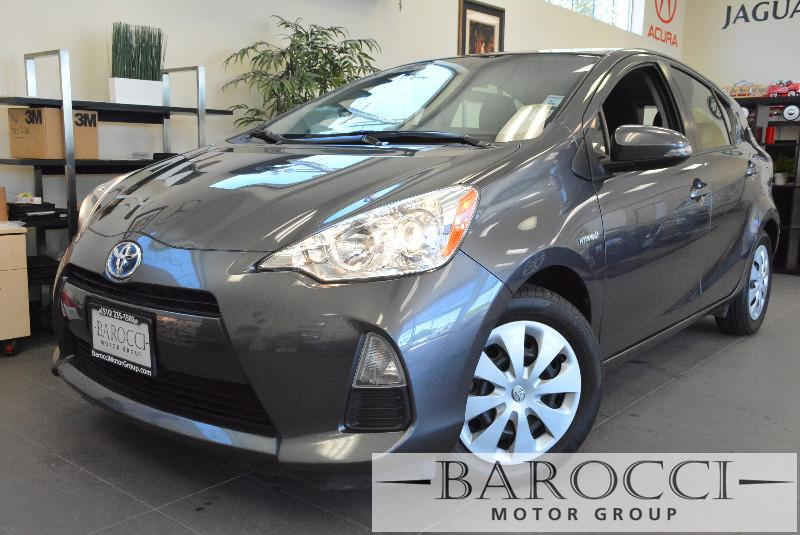 2012 Toyota Prius c One 4dr Hatchback Continuously Variable Tra Gray Child Safety Door Locks Po