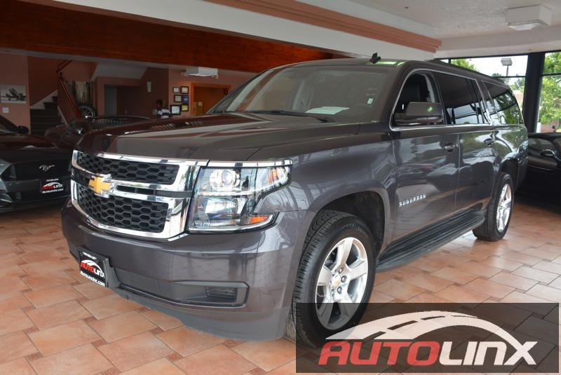 2015 Chevrolet Suburban LT 1500 2WD 6-Speed Automatic Gray Black Theres no substitute for a Che