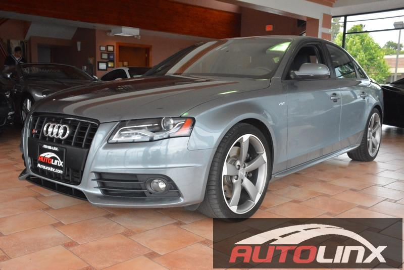 2012 Audi S4 Sedan quattro S tronic 7-Speed Automatic Gray Gray Bluetooth Hands-Free Portable