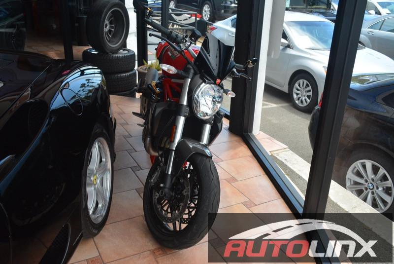 2015 Other Ducati Monster 1200 6 Speed Manual Red Shape and function The performance and fluidi