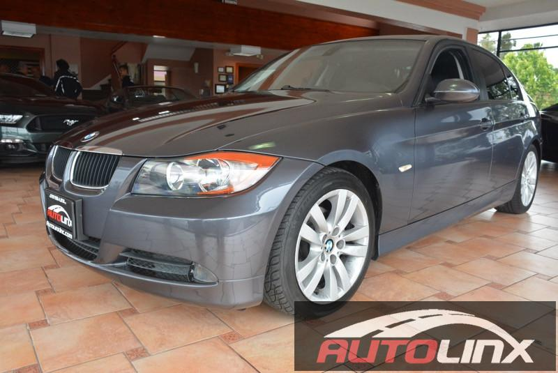 2006 BMW 3-Series 325i Sedan 6-Speed Automatic  Gray Black Why pay more for less  You NEED to