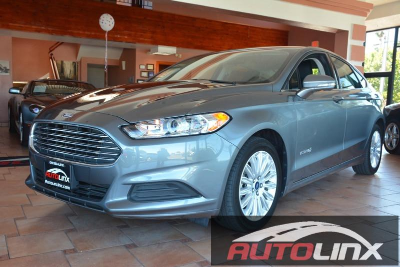 2014 Ford Fusion Hybrid SE 4dr Sedan Automatic Gray NA 20L I4 Atkinson-Cycle Hybrid STOP Re