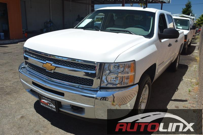 2013 Chevrolet Silverado 1500 LT 4-Speed Automatic  White 6-Speed Automatic Electronic with Over