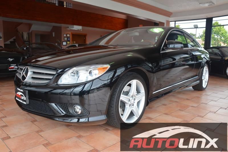 2010 MERCEDES CL550 4MATIC AWD Lorenzo Package 7 Speed Auto Black Black 4MATIC   and Black Leat