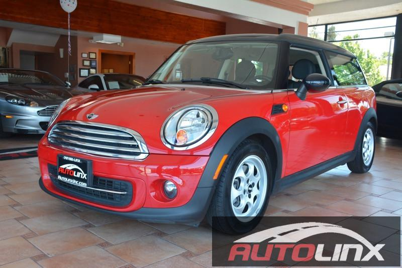 2014 Mini Clubman wgn 6-Speed Automatic  Red Theres no substitute for a Mini What are you waiti
