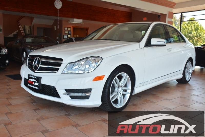 2014 MERCEDES C-Class C250 Sport Sedan 7-Speed Automatic White Locally traded Call and ask for