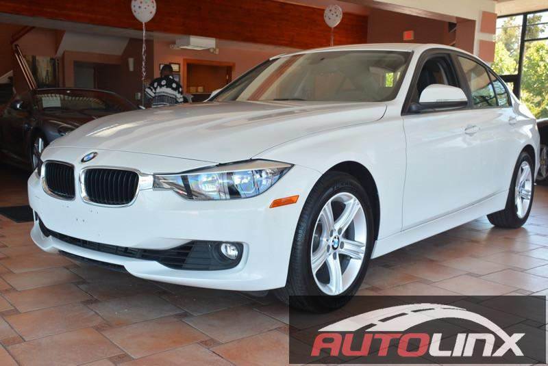 2015 BMW 3-Series 328i Sedan Automatic White Bluetooth Hands-Free Portable Audio Connection L