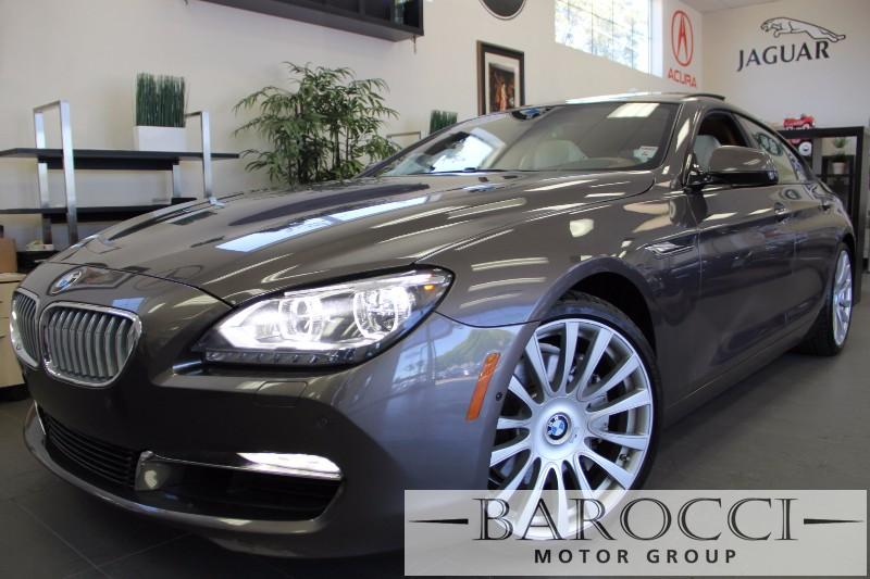 2013 BMW 6 Series 650i Gran Coupe 4dr Sedan Automatic Bronze White One of a kind Individual pac