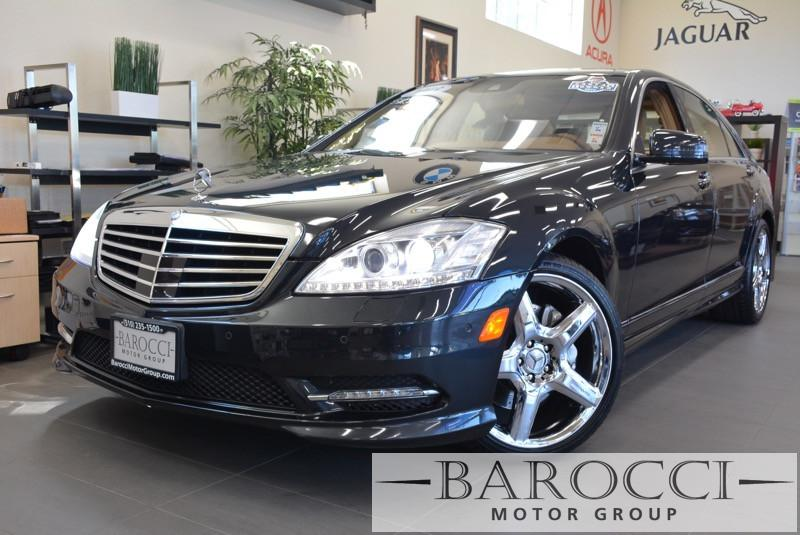 2013 MERCEDES S-Class S550 4dr Sedan Sport pkg 7 Speed Auto Black ABS Air Conditioning Alarm