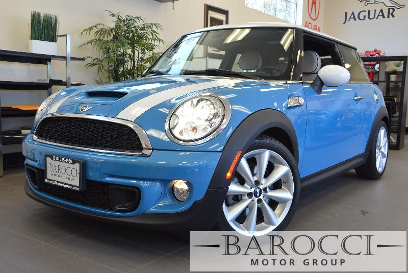 2013 MINI Hardtop Cooper SNavigationSport Pkg Automatic Blue Power Door Locks Vehicle Anti-Th