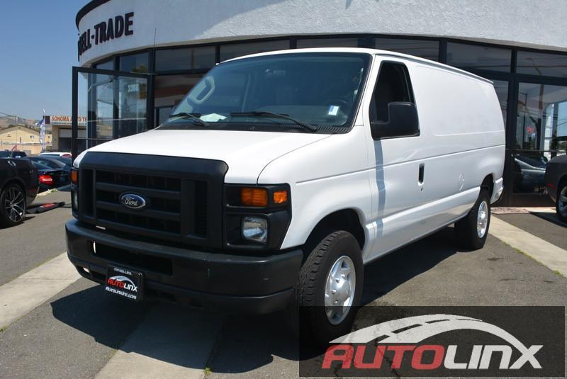 2011 Ford Econoline E-250 4-Speed Automatic White Gray Flex Fuel Wow Where do I start  How e