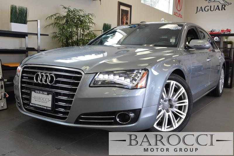 2013 Audi A8 30T quattro LWB AWD  4dr Sedan 8 Speed Auto Gray ABS Air Conditioning Alarm All