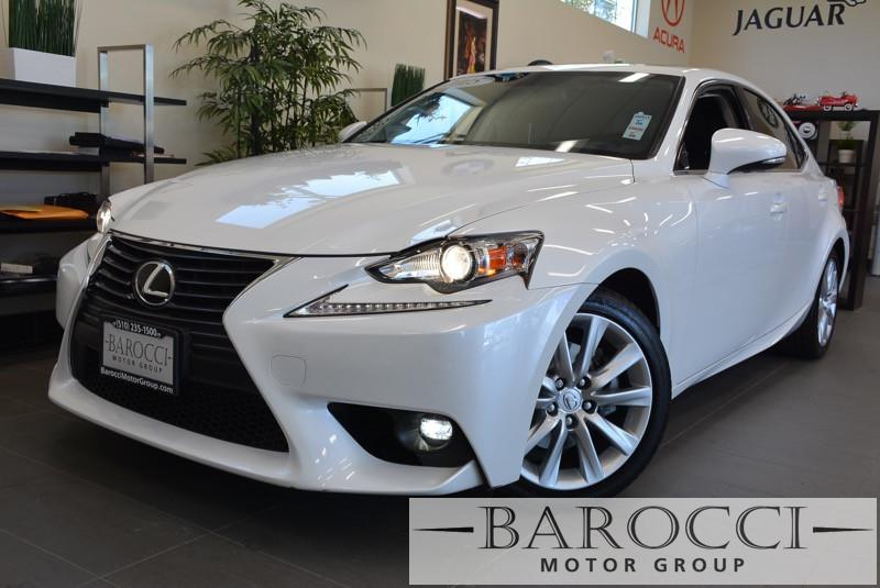 2015 Lexus IS 250 Base 4dr Sedan 6 Speed Auto White Child Safety Door Locks Power Door Locks V