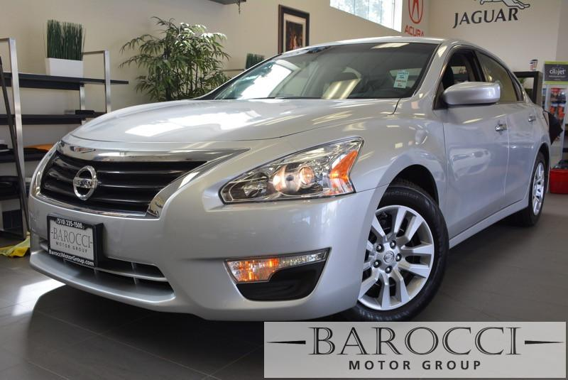 2015 Nissan Altima 25 4dr Sedan Continuously Variable Transmission  Silver Child Safety Door Lo