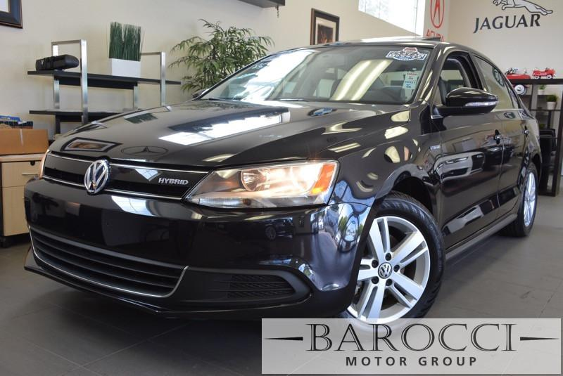 2013 Volkswagen Jetta HybridSELPREMIUM 7 Speed Auto Black ABS Air Conditioning Alarm Alloy