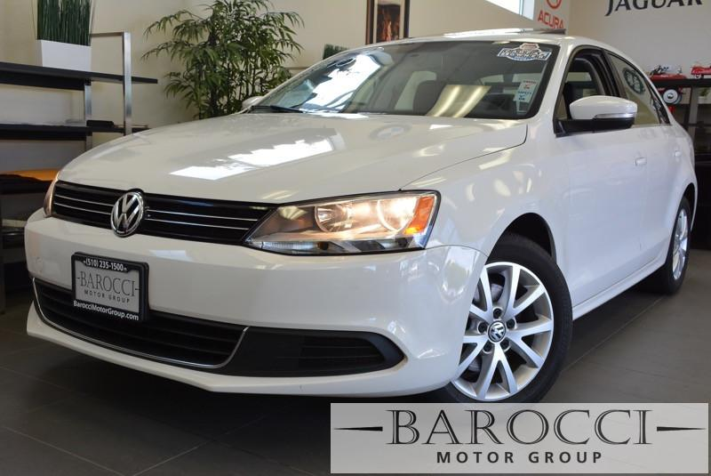 2013 Volkswagen Jetta SE 4dr Sedan 6A 6 Speed Auto White Child Safety Door Locks Power Door Loc