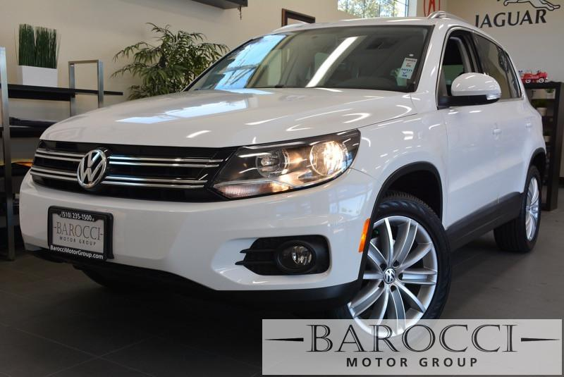 2013 Volkswagen Tiguan SE 4Motion AWD  4dr SUV 6 Speed Auto White ABS Air Conditioning Alarm